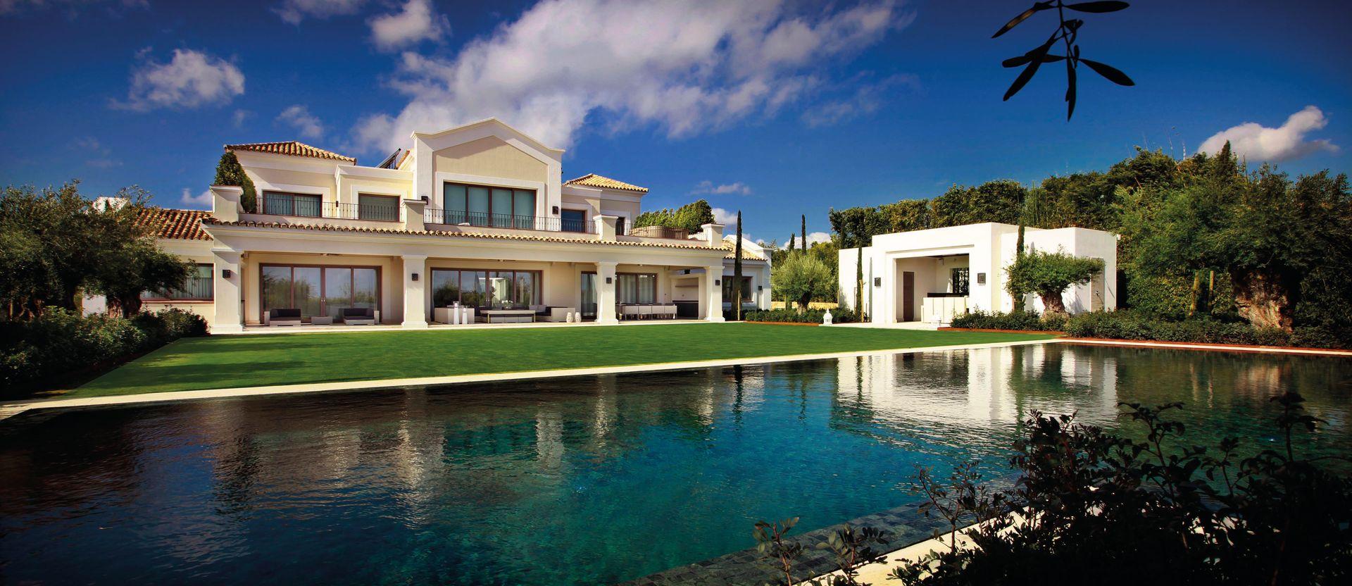 Six-Bedroom Luxury Villa With Private Spa in Sotogrande