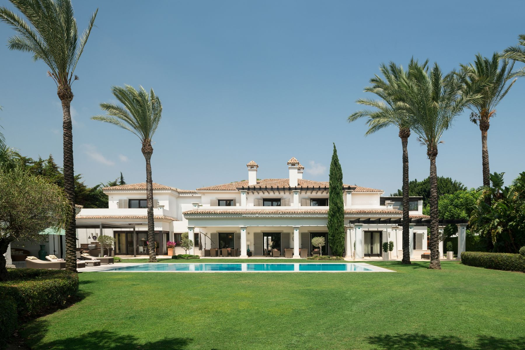 Bedøvelse villa i Kings & Queens-området i Sotogrande Costa